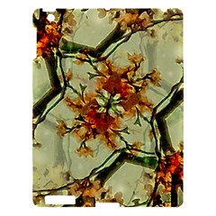 Floral Motif Print Pattern Collage Apple Ipad 3/4 Hardshell Case by dflcprints