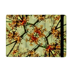 Floral Motif Print Pattern Collage Apple Ipad Mini Flip Case by dflcprints