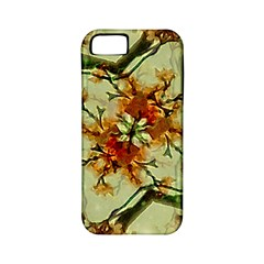 Floral Motif Print Pattern Collage Apple Iphone 5 Classic Hardshell Case (pc+silicone) by dflcprints