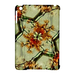 Floral Motif Print Pattern Collage Apple Ipad Mini Hardshell Case (compatible With Smart Cover) by dflcprints