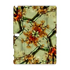 Floral Motif Print Pattern Collage Samsung Galaxy Note 10 1 (p600) Hardshell Case by dflcprints