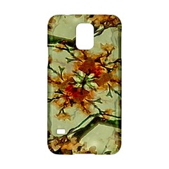 Floral Motif Print Pattern Collage Samsung Galaxy S5 Hardshell Case  by dflcprints