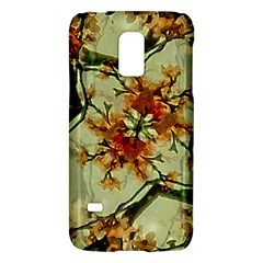 Floral Motif Print Pattern Collage Samsung Galaxy S5 Mini Hardshell Case  by dflcprints