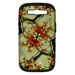 Floral Motif Print Pattern Collage Samsung Galaxy S Iii Hardshell Case (pc+silicone) by dflcprints