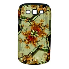 Floral Motif Print Pattern Collage Samsung Galaxy S Iii Classic Hardshell Case (pc+silicone) by dflcprints