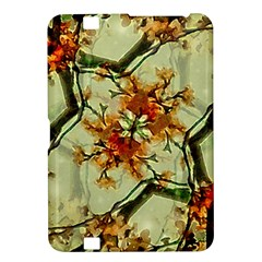 Floral Motif Print Pattern Collage Kindle Fire Hd 8 9  Hardshell Case by dflcprints