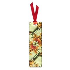 Floral Motif Print Pattern Collage Small Bookmark by dflcprints