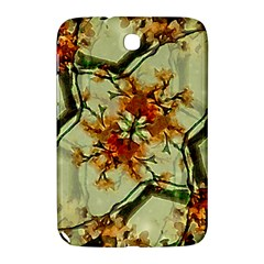 Floral Motif Print Pattern Collage Samsung Galaxy Note 8 0 N5100 Hardshell Case  by dflcprints