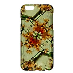 Floral Motif Print Pattern Collage Apple iPhone 6 Plus Hardshell Case by dflcprints