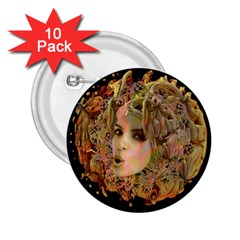 Organic Planet 2 25  Button (10 Pack) by icarusismartdesigns