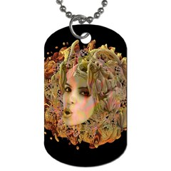 Organic Planet Dog Tag (two Sided)  by icarusismartdesigns