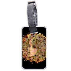 Organic Planet Luggage Tag (two Sides) by icarusismartdesigns