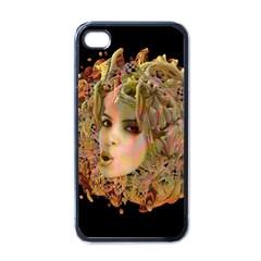Organic Planet Apple Iphone 4 Case (black) by icarusismartdesigns