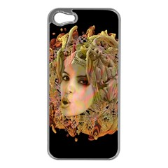 Organic Planet Apple Iphone 5 Case (silver) by icarusismartdesigns
