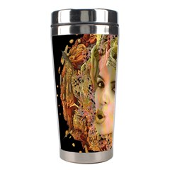 Organic Planet Stainless Steel Travel Tumbler by icarusismartdesigns