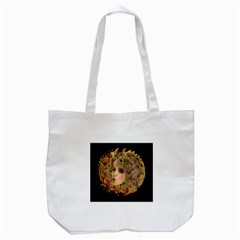 Organic Planet Tote Bag (white) by icarusismartdesigns