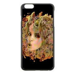Organic Planet Apple Iphone 6 Plus Black Enamel Case by icarusismartdesigns