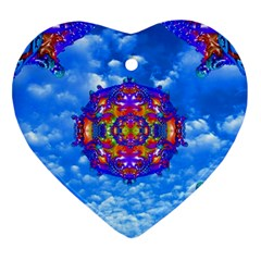 Sky Horizon Heart Ornament by icarusismartdesigns
