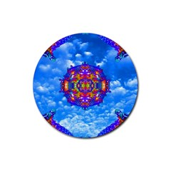 Sky Horizon Drink Coaster (round) by icarusismartdesigns