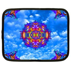 Sky Horizon Netbook Sleeve (large) by icarusismartdesigns