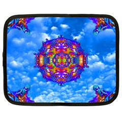 Sky Horizon Netbook Sleeve (xxl) by icarusismartdesigns