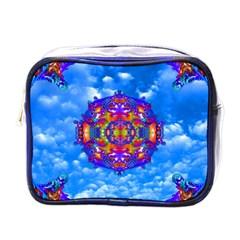 Sky Horizon Mini Travel Toiletry Bag (one Side) by icarusismartdesigns