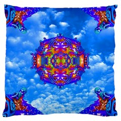 Sky Horizon Large Cushion Case (two Sided)  by icarusismartdesigns