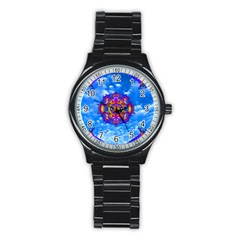 Sky Horizon Sport Metal Watch (black) by icarusismartdesigns
