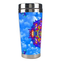 Sky Horizon Stainless Steel Travel Tumbler by icarusismartdesigns