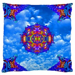 Sky Horizon Standard Flano Cushion Case (two Sides) by icarusismartdesigns
