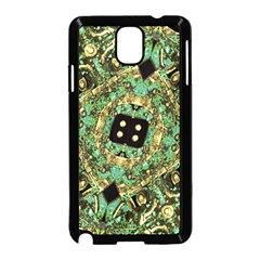 Luxury Abstract Golden Grunge Art Samsung Galaxy Note 3 Neo Hardshell Case (black)