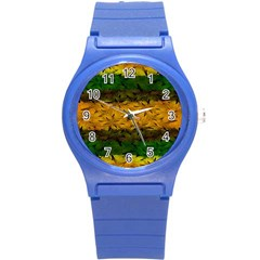 Tribal Floral Pattern Plastic Sport Watch (small) by dflcprints