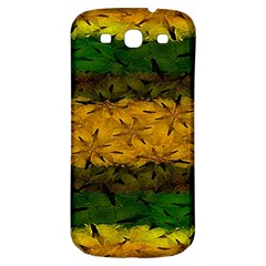 Tribal Floral Pattern Samsung Galaxy S3 S Iii Classic Hardshell Back Case by dflcprints