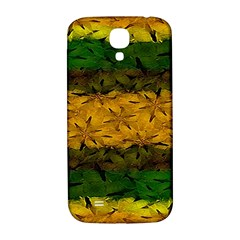 Tribal Floral Pattern Samsung Galaxy S4 I9500/i9505  Hardshell Back Case by dflcprints