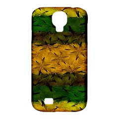 Tribal Floral Pattern Samsung Galaxy S4 Classic Hardshell Case (pc+silicone) by dflcprints