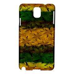 Tribal Floral Pattern Samsung Galaxy Note 3 N9005 Hardshell Case by dflcprints