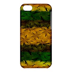 Tribal Floral Pattern Apple Iphone 5c Hardshell Case by dflcprints
