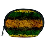 Tribal Floral Pattern Accessory Pouch (Medium) Front