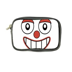 Happy Clown Cartoon Drawing Coin Purse by dflcprints