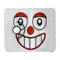 Happy Clown Cartoon Drawing Samsung Galaxy S  Iii Flip 360 Case by dflcprints