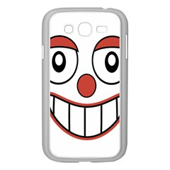 Happy Clown Cartoon Drawing Samsung Galaxy Grand Duos I9082 Case (white) by dflcprints