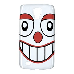 Happy Clown Cartoon Drawing Samsung Galaxy S4 Active (i9295) Hardshell Case by dflcprints