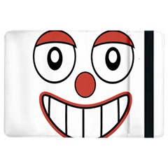 Happy Clown Cartoon Drawing Apple Ipad Air 2 Flip Case by dflcprints
