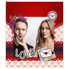 Love By Love   Drawstring Pouch (small)   5pzvmjz3wgwk   Www Artscow Com Front