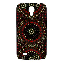 Digital Abstract Geometric Pattern In Warm Colors Samsung Galaxy Mega 6 3  I9200 Hardshell Case by dflcprints