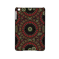 Digital Abstract Geometric Pattern In Warm Colors Apple Ipad Mini 2 Hardshell Case by dflcprints