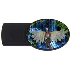 Magic Sword 2gb Usb Flash Drive (oval) by icarusismartdesigns