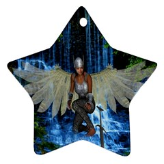 Magic Sword Star Ornament (two Sides) by icarusismartdesigns