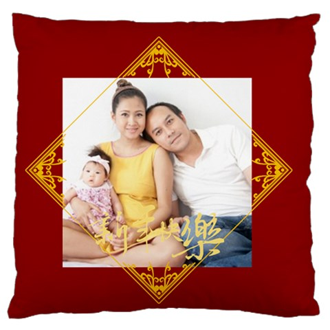 Chinese New Year By Ch   Large Flano Cushion Case (one Side)   Lagts0nb2720   Www Artscow Com Front