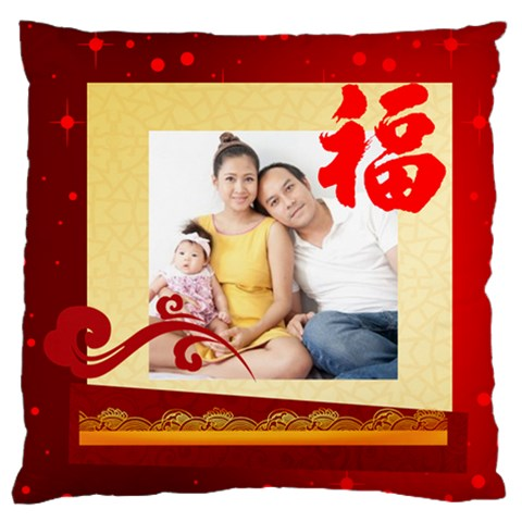 Chinese New Year By Ch   Standard Flano Cushion Case (one Side)   Xniwzcjypvdx   Www Artscow Com Front